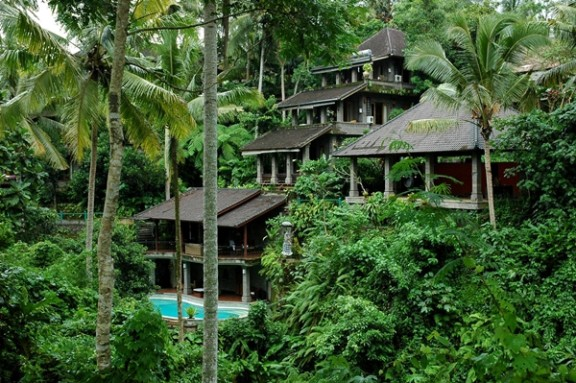 Yoga and Spa Retreat surrounded by Rice Terraces